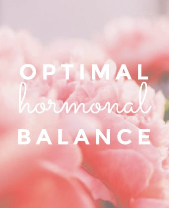 optimal hormonal balance
